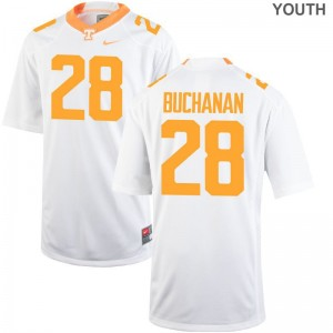 Baylen Buchanan For Kids Alumni Jerseys White Limited UT