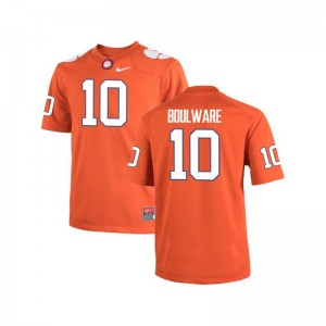 Clemson Ben Boulware Player Jersey Orange Game Mens