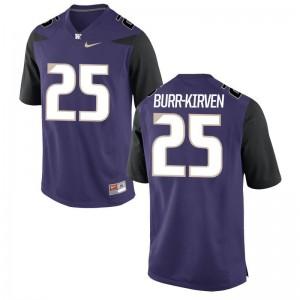 Mens Ben Burr-Kirven NCAA Jerseys Washington Purple Game