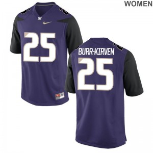 Ladies Purple Limited University of Washington Jersey Ben Burr-Kirven