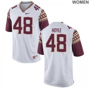 FSU Player Jersey Ben Hoyle Ladies White Limited