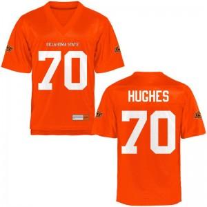 Limited Ben Hughes High School Jersey OSU Cowboys Mens - Orange