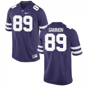 KSU Purple Mens Game Blaise Gammon Jerseys S-3XL