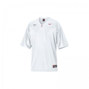 Blank Kids Jersey S-XL Limited Alabama Crimson Tide - White