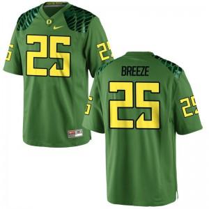Brady Breeze Mens Jersey S-3XL University of Oregon Game Apple Green