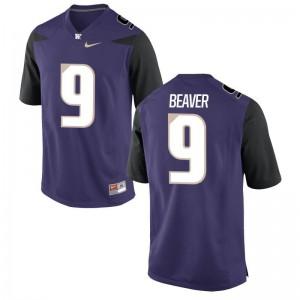 Brandon Beaver Jersey Mens UW Huskies Game - Purple