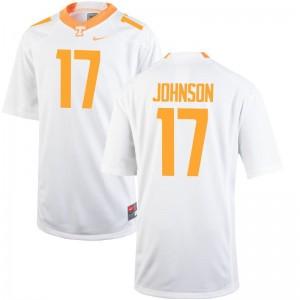 UT Brandon Johnson Jerseys S-3XL Mens Game - White
