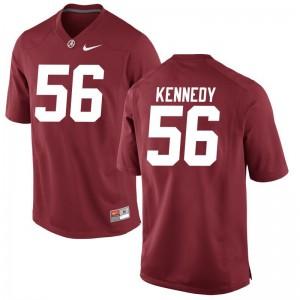Game Men Red Bama Football Jerseys of Brandon Kennedy