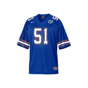 Youth(Kids) Brandon Spikes Jersey University of Florida Blue Limited