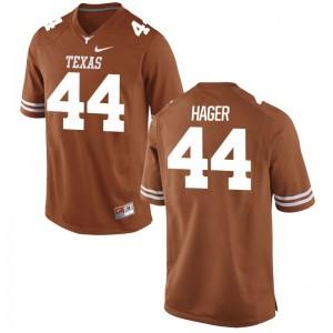Breckyn Hager Mens Orange Jerseys S-3XL Longhorns Game