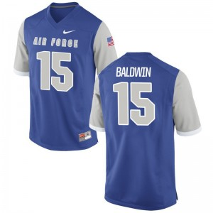 USAFA Brett Baldwin Jersey Game Royal For Men