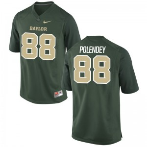 Game Brian Polendey Jersey S-3XL University of Miami Mens Green
