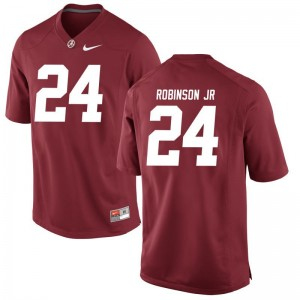 S-3XL Alabama Crimson Tide Brian Robinson Jr. Jerseys Alumni Mens Game Red Jerseys