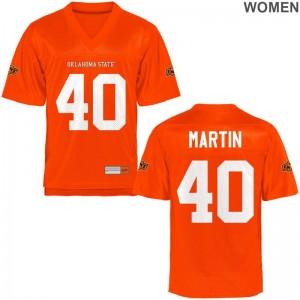 Brock Martin OSU Jersey S-2XL Game Women - Orange
