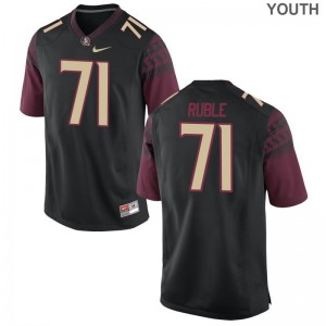 Seminoles Brock Ruble Jersey Limited For Kids - Black