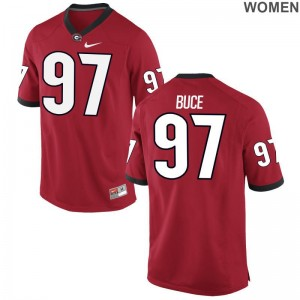 University of Georgia Brooks Buce Women Game Red Player Jerseys