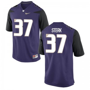 UW Huskies Game Men Bryce Sterk Jersey - Purple