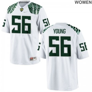 Ducks Bryson Young Women Limited Jersey - White