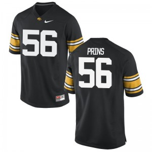 Men Burke Prins Alumni Jersey Iowa Black Game