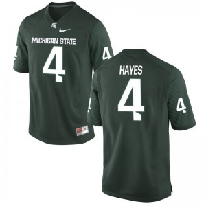Michigan State C.J. Hayes Jersey Game Men Jersey - Green