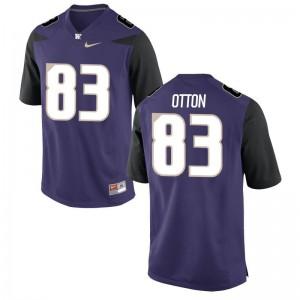 Mens Cade Otton Jerseys Purple Game University of Washington Jerseys