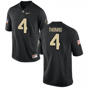 Cam Thomas United States Military Academy Jersey S-3XL Game Black For Men