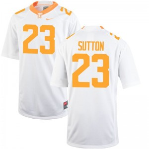 UT Cameron Sutton Jersey S-2XL White For Women Limited