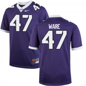 Limited Texas Christian Carter Ware For Men Purple Jersey