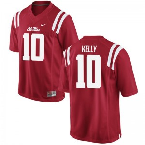 Ole Miss High School Jersey of Chad Kelly Red Men Game