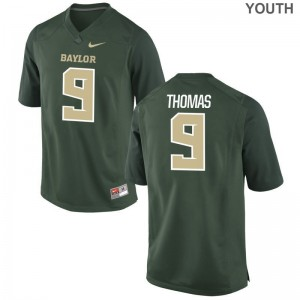 Chad Thomas Miami Jersey For Kids Game Jersey - Green