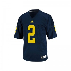 Men Game Blue Michigan Wolverines Player Jersey Charles Woodson