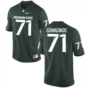 Game Spartans Chase Gianacakos Mens Jerseys - Green