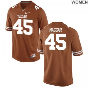 UT College Chris Naggar Limited Jersey Orange For Women