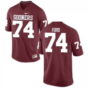 Cody Ford Game Jersey Men OU Crimson Jersey