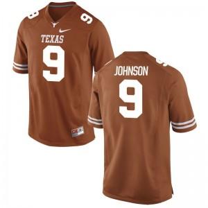 Texas Longhorns Jerseys of Collin Johnson Game Orange For Men