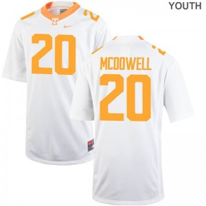 Cortez McDowell Jersey Kids Tennessee Game - White