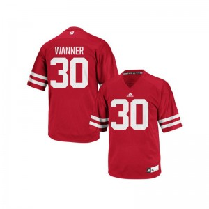 Coy Wanner Wisconsin Mens Jerseys Red Authentic Jerseys