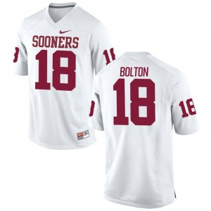 OU Jerseys S-3XL of Curtis Bolton Limited Mens - White