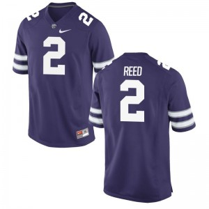 D.J. Reed Kansas State University Mens Game Jersey - Purple