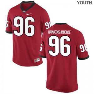 Game DaQuan Hawkins-Muckle High School Jerseys Georgia Bulldogs Youth Red
