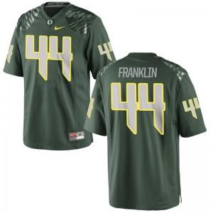Darrian Franklin Youth(Kids) Jersey Limited Ducks - Green