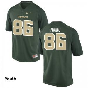 David Njoku College Jersey Youth(Kids) Miami Limited Green