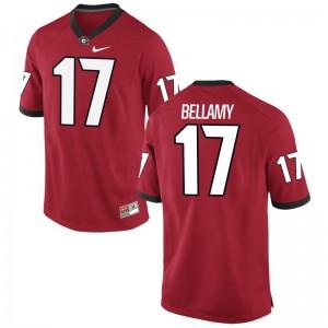 University of Georgia Player Jersey Davin Bellamy Game For Men - Red