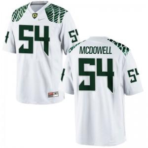University of Oregon De'Quan McDowell Jersey S-XL Limited White For Kids