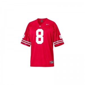 OSU DeVier Posey Game For Men NCAA Jersey - Red
