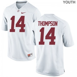 Kids Deionte Thompson Jersey S-XL Alabama White Limited
