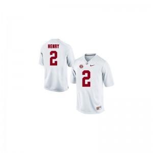 Derrick Henry University of Alabama Football Jersey White Kids Game