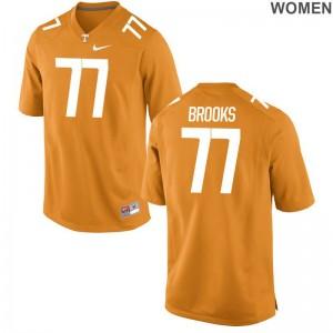 Devante Brooks Tennessee Vols Game Womens Jersey - Orange
