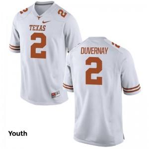 UT Devin Duvernay Alumni Jerseys Kids Limited White