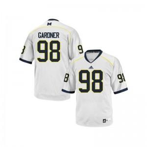 Michigan Wolverines Devin Gardner Game Men Jersey - White